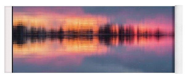 Sunset On Lake Norman Yoga Mat