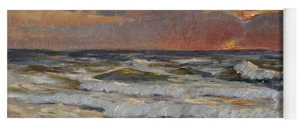 Sunset On The Baltic Sea Yoga Mat
