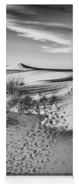 Sunset On The Dunes Yoga Mat