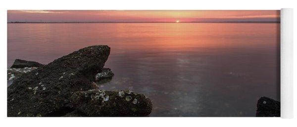 Sunset On The Forgotten Coast Yoga Mat