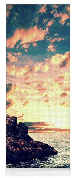 Sunset On The Horizon Yoga Mat