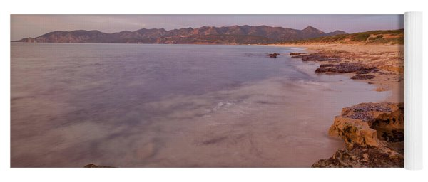 Sunset On The Sea Yoga Mat