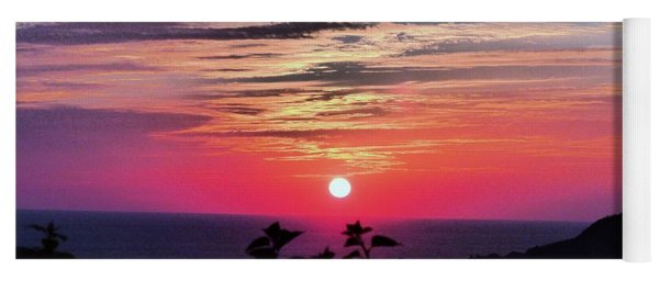 Sunset On Zihuatanejo Bay Yoga Mat