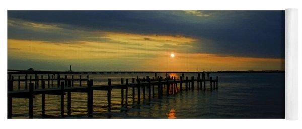 Sunset Over The Bay Yoga Mat