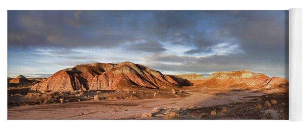 Sunset Paints The Desert Yoga Mat