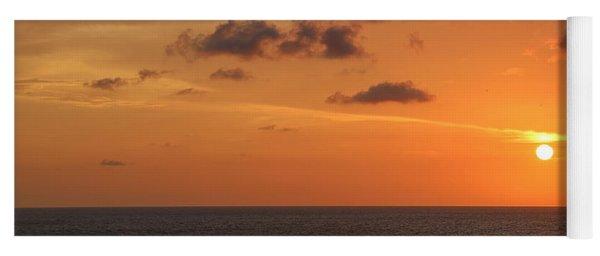 Sunset Panama City Florida Yoga Mat