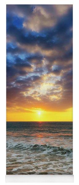 Sunset Panorama Yoga Mat