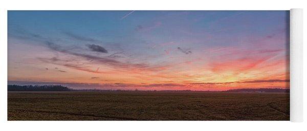 Sunset Pastures Yoga Mat