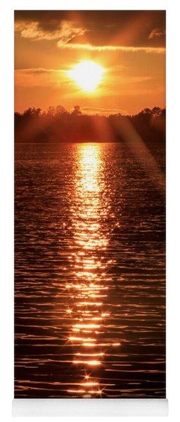 Sunset Reflections Yoga Mat