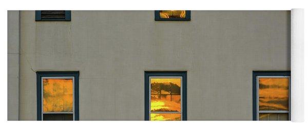 Sunset Reflections On Chapel Yoga Mat