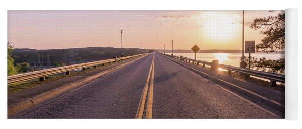 Sunset Road  Yoga Mat