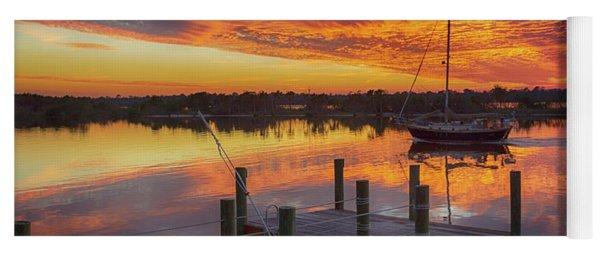 Sunset Sail Yoga Mat
