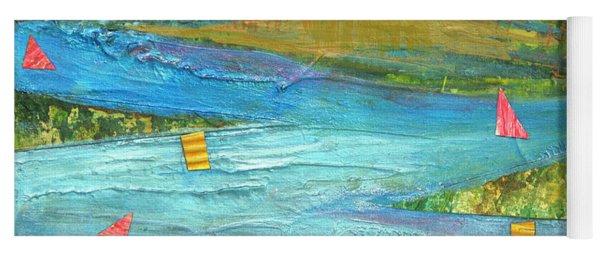 Sunset Sails 2 Yoga Mat