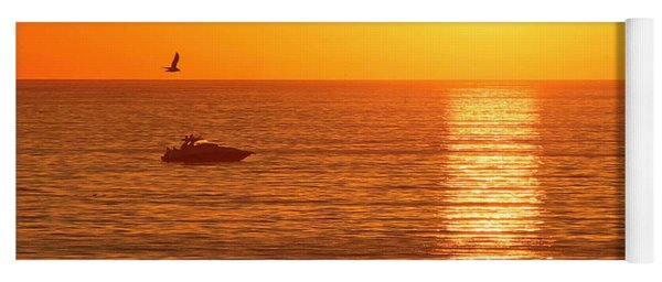 Sunset Solitude Yoga Mat