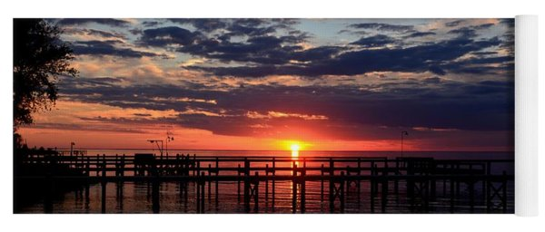 Sunset - South Carolina Yoga Mat