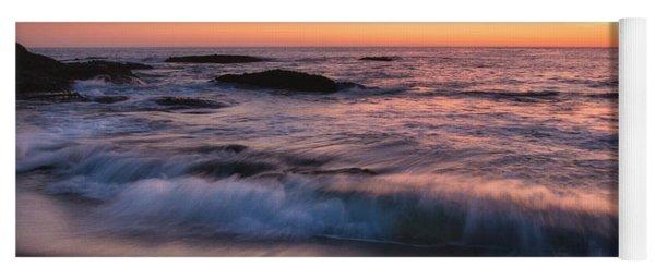 Sunset Surf Yoga Mat