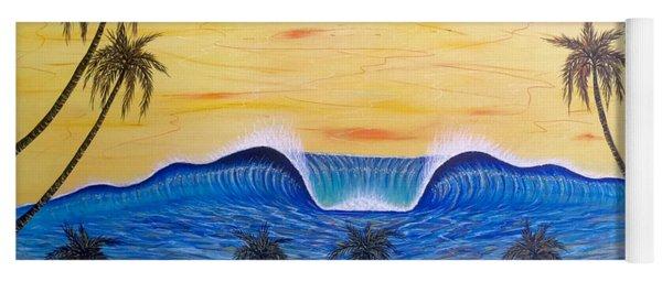 Sunset Surf Dream Yoga Mat