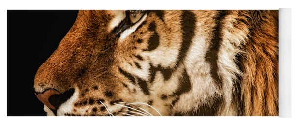 Sunset Tiger Yoga Mat