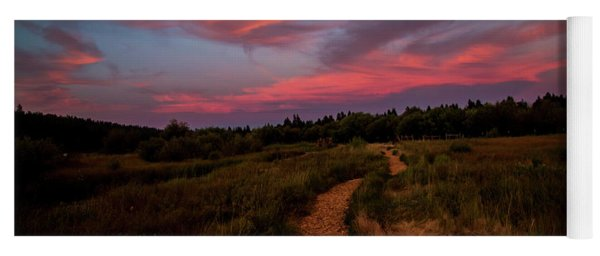 Sunset Trail Walk Yoga Mat
