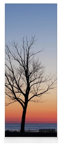 Sunset Tree Yoga Mat