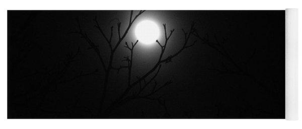 Super Blue Blood Moon Eclipse Yoga Mat