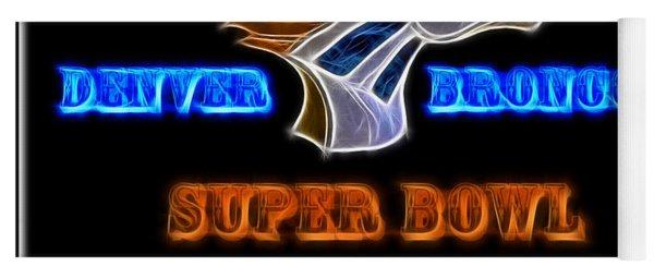 Super Bowl 50 Champions Yoga Mat
