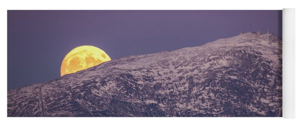 Super Moon Rising Yoga Mat