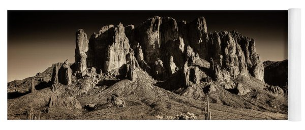 Superstition Mountain  Yoga Mat