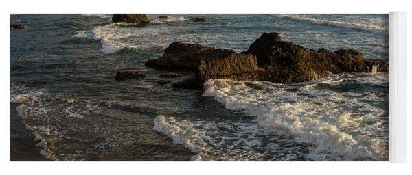 Surf At Crescent Beach Yoga Mat