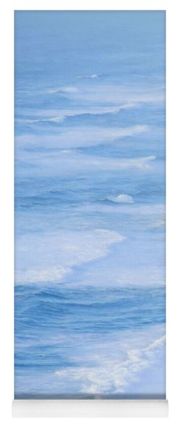 Surf At Point Reyes Beach Yoga Mat