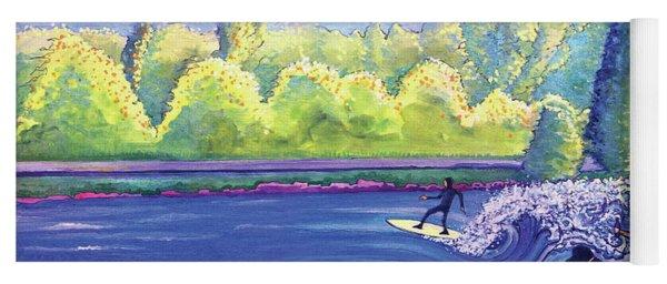 Surf Colorado Yoga Mat
