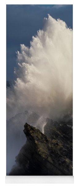 Surf Eruption Yoga Mat