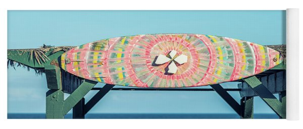 Surfboard Art #1 Yoga Mat