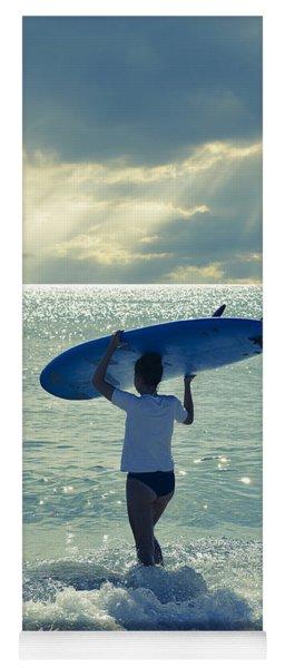Surfer Girl Yoga Mat