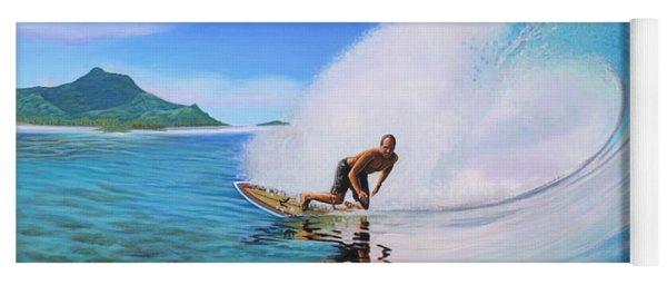 Surfing Dan Yoga Mat
