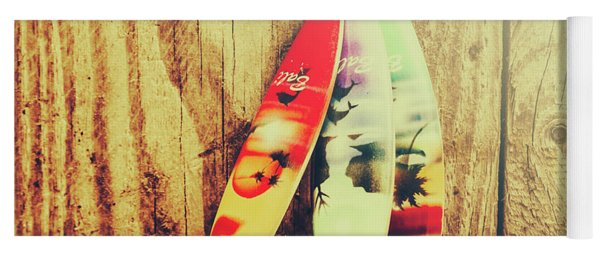 Surfing Still Life Artwork Yoga Mat