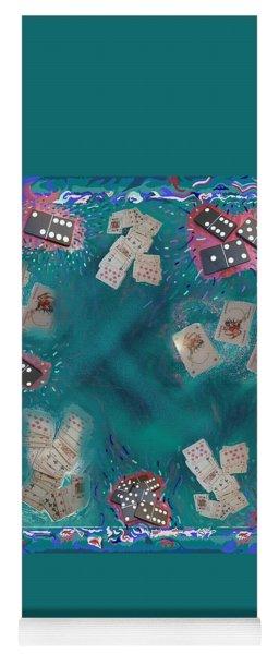 Surreal Lake Art And Poem Yoga Mat