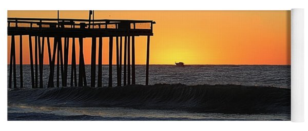 Yoga Mat featuring the photograph Surrounded By Sunrise by Robert Banach