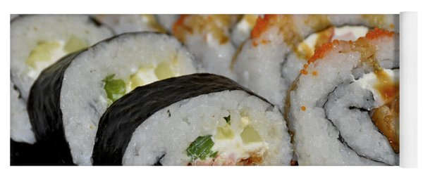 Sushi Rolls From Home Yoga Mat