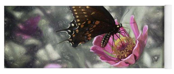Swallowtail In A Fairytale Yoga Mat
