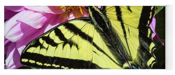 Yoga Mat featuring the photograph Swallowtail by Mark Mille