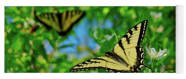 Swallowtails Yoga Mat