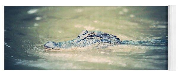 Swamp Gator Blues Yoga Mat