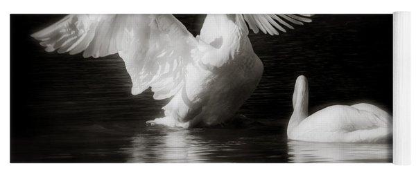 Swan Display Yoga Mat