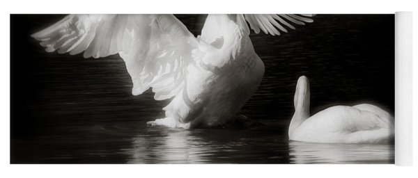 Swan Display Yoga Mat