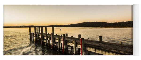 Swan River Jetty Yoga Mat