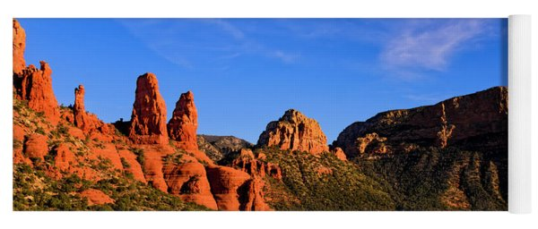 Sweeping Sedona Yoga Mat