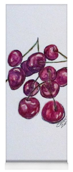 Sweet Cherry Yoga Mat