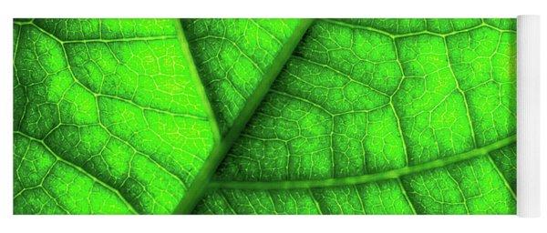 Sweet Green Leaf Yoga Mat