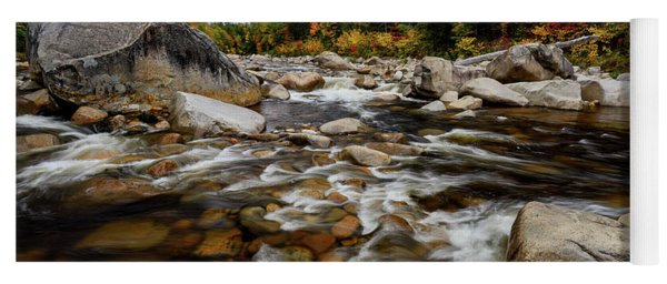 Swift River Autumn Nh Yoga Mat